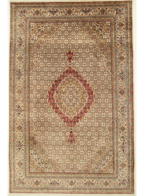 Luxury hand made carpet Tabriz 245x350cm wool and silk