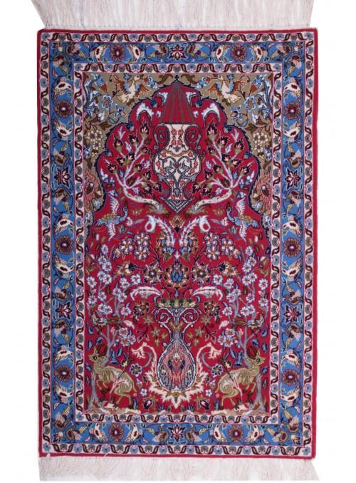 Ręcznie tkany dywan perski Isfahan Iran 70x110cm wełna
