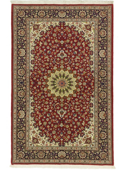 Hand-made persian luxury carpet Qum ca. 140x200cm 100% wool Iran