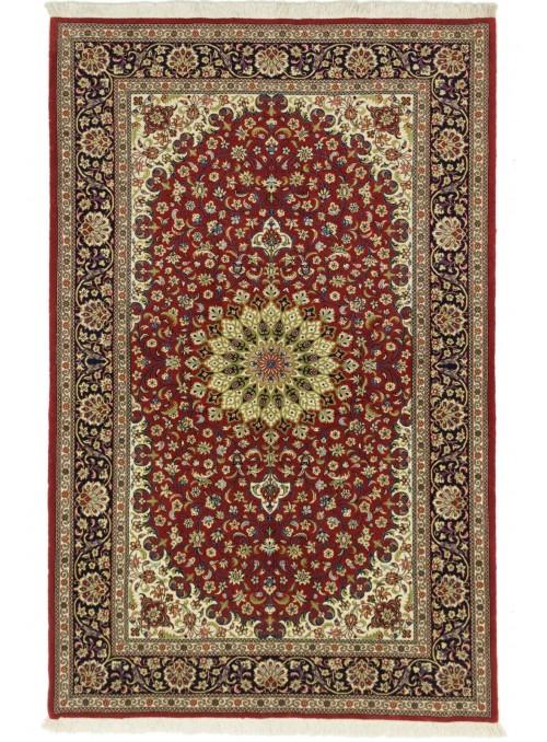 Ręcznie tkany dywan perski Kom Iran 140x200cm 100% wełna kwiatowy