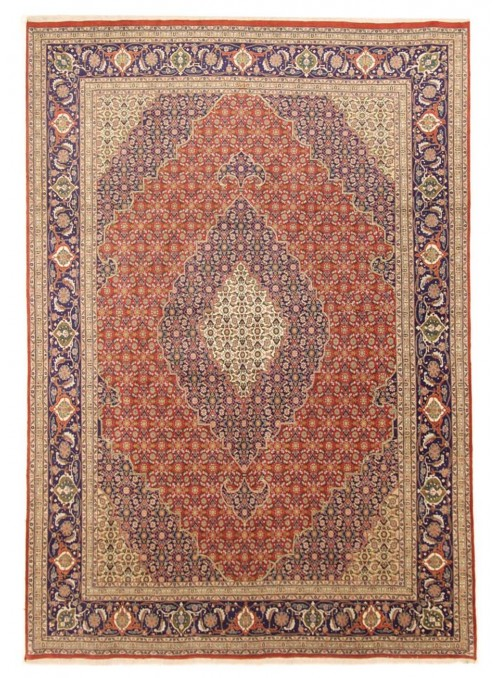 Hand made Iran carpet Tabriz Herati 240x350cm wool/silk