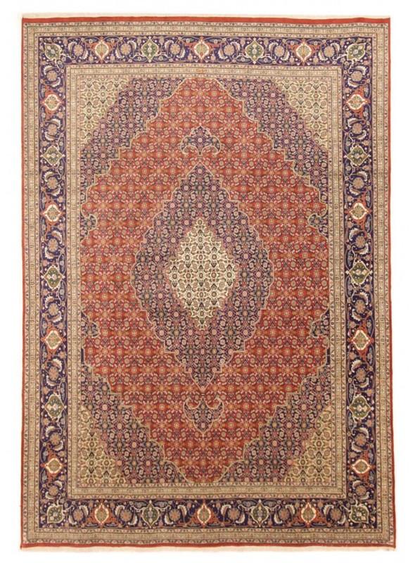 Orient Teppich handgeknüpft Iran Tabriz Herati 240x350cm Wole/Seide