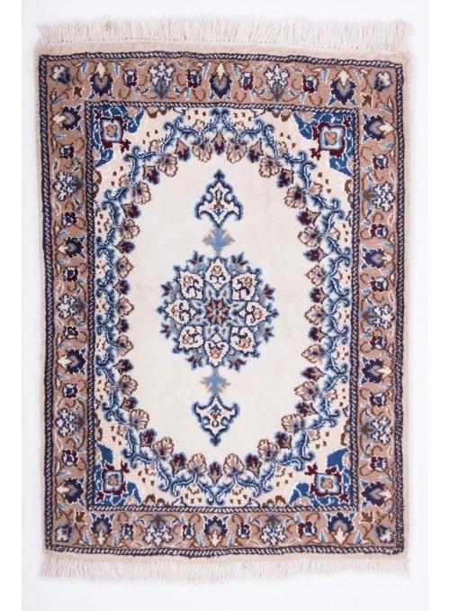Ręcznie tkany dywan perski Nain 9la Iran 60x80cm 100% wełna kwiatowy