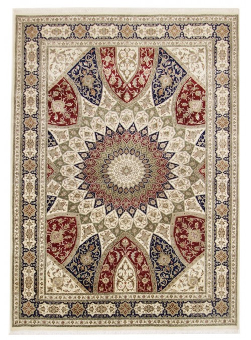 Hand made Iran carpet Tabriz Gonbad 205x285cm wool/silk
