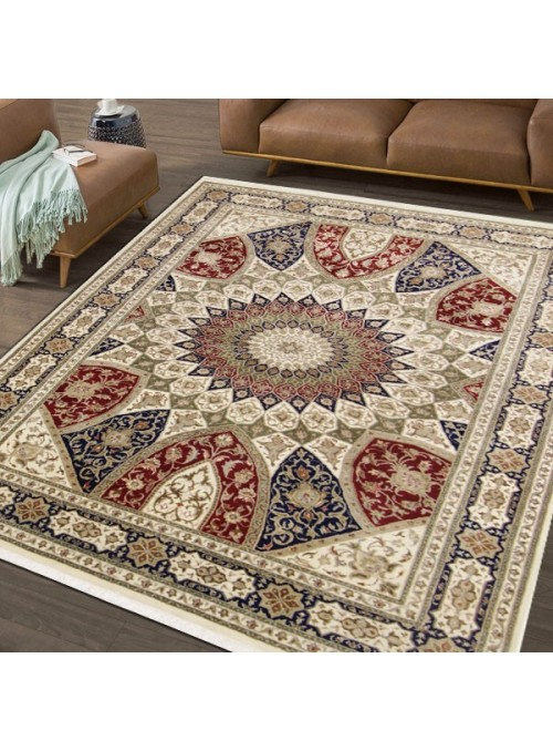 Ręcznie tkany dywan Tabriz Gonbad Iran wełna i jedwab 205x285cm