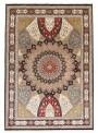 Orient Teppich handgeknüpft Iran Tabriz Gonbad 190x285cm Wole/Seide