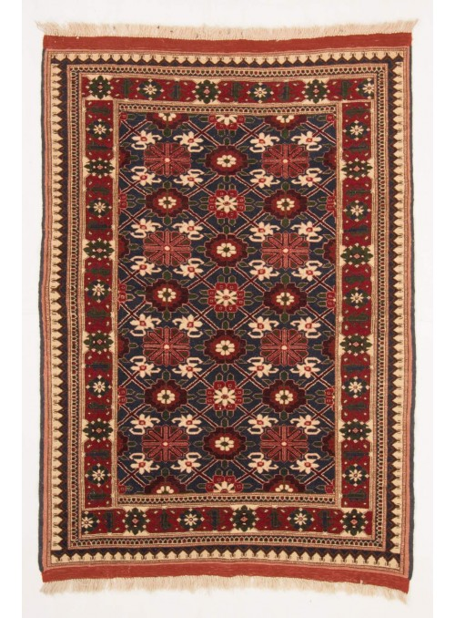 Hand-made luxury carpet Chapabaft Mauri Afghanistan ca. 145x165cm 100% wool