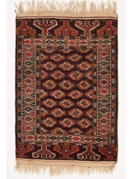Hand-made luxury carpet Turkmenistan Bashir ca. 110x145cm 100% wool