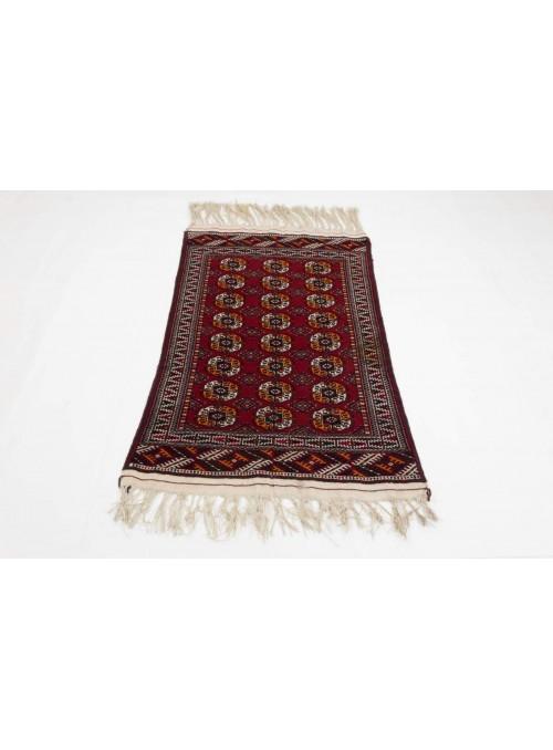 Hand-made luxury carpet Turkmenistan Turkmen ca. 90x140cm 100% wool