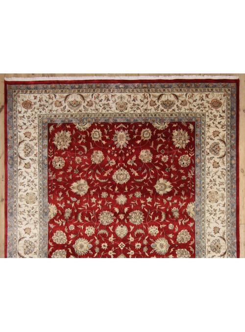 Klassisch Orient Teppich Handgeknüpft Iran Tabriz 240x340cm Wole mit Seide