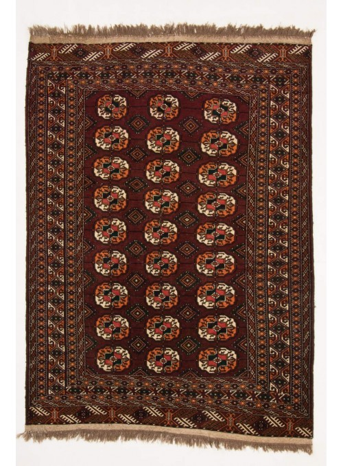 Hand-made luxury carpet Turkmenistan Turkmen ca. 130x180cm 100% wool