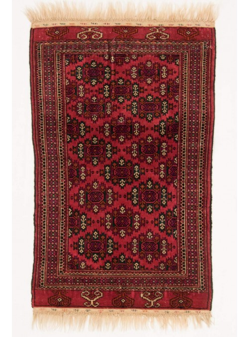 Hand-made luxury carpet Turkmenistan Buchara ca. 85x120cm 100% wool