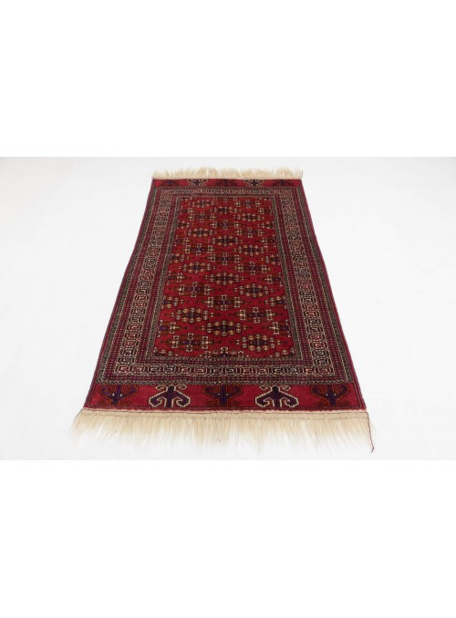 Hand-made luxury carpet Turkmenistan Yamut ca. 130x180cm 100% wool