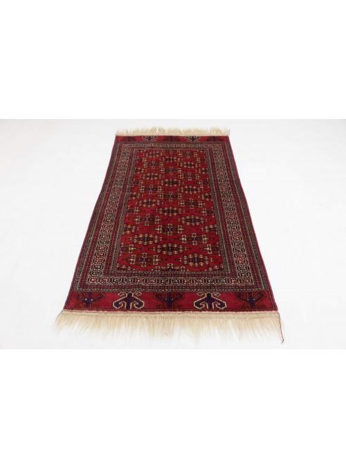 Luxus Turkmenistan Yamut Teppich ca. 130x180cm 100% Schurwolle rot