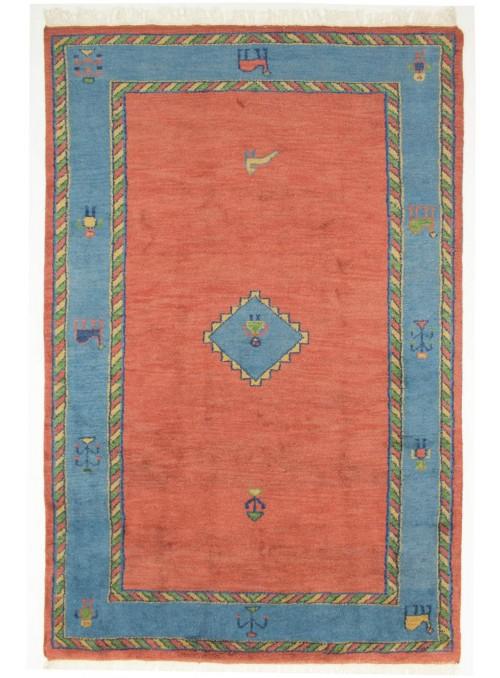 Ethnisch Indo-Gabbeh Teppich ca. 200x300cm 100 % Wolle