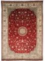 Klassisch Orient Teppich Handgeknüpft Iran Tabriz 245x345cm Wole mit Seide