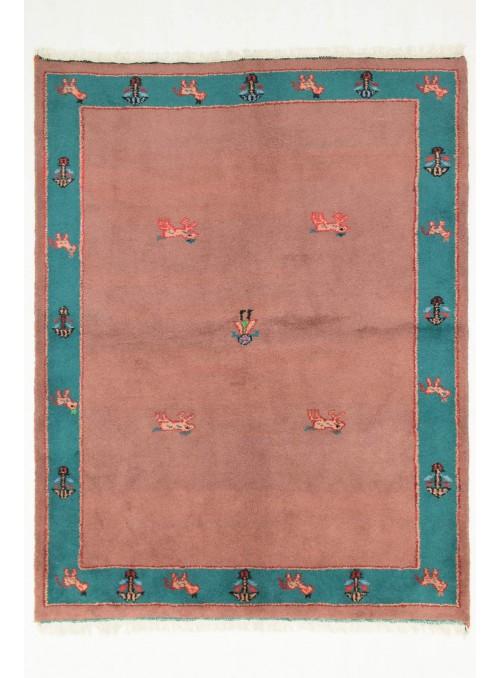 Ręcznie tkany etniczny dywan Indo-Gabbeh 180x240cm wełna