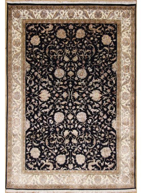 Luksusowy ręcznie tkany dywan Tabriz Iran wełna i jedwab 250x300cm