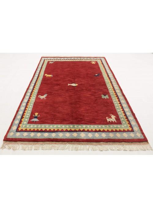 Ręcznie tkany etniczny dywan Indo-Gabbeh 170x240cm wełna