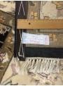 Luxus Orient Teppich Handgeknüpft Iran Tabriz 250x300cm Wole mit Seide