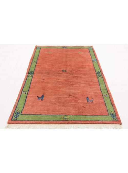 Ethnisch Indo-Gabbeh Teppich ca. 140x200cm 100 % Wolle