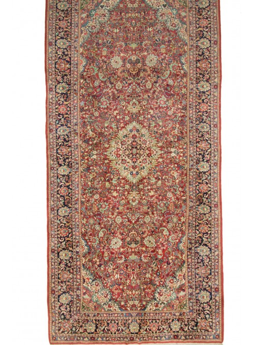 Hand-made gigantic persian carpet Isfahan ca. 300x600cm 100% wool Iran