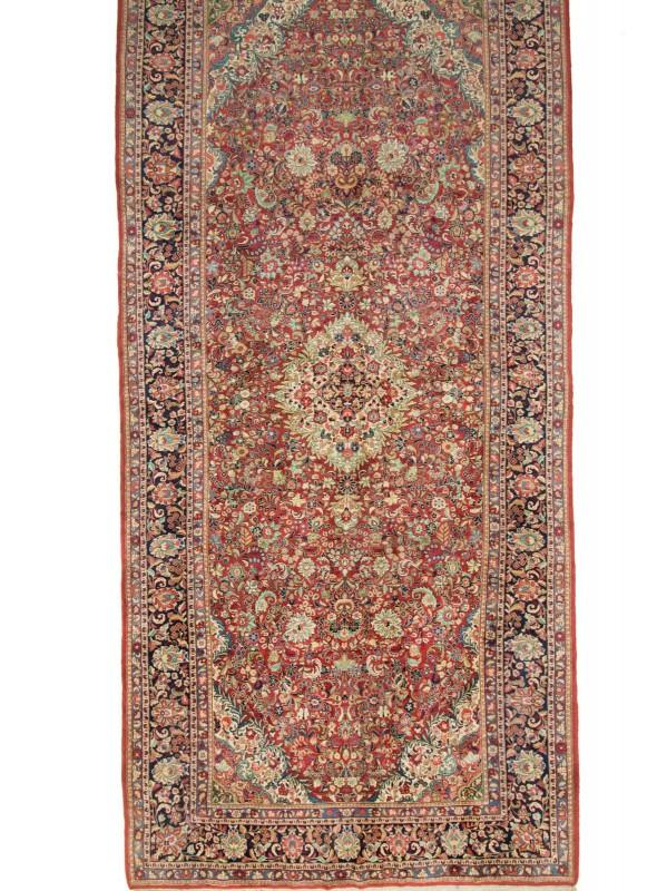 Nowoczesna architektura Ręcznie tkany dywan z wełny tradycyjny Isfahan Iran 300x600cm OV95