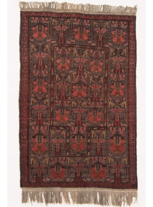 Ręcznie tkany dywan Afganistan Mauri antyk ok 106x143cm 100% wełna
