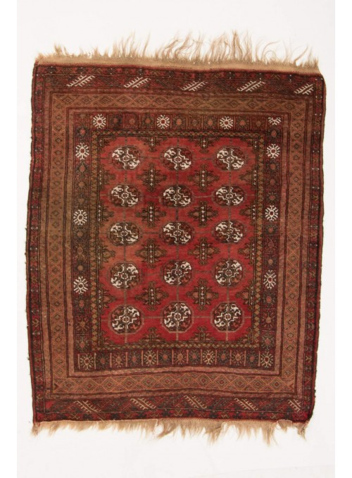 Ręcznie tkany dywan Afganistan Mauri antyk ok 120x140cm 100% wełna