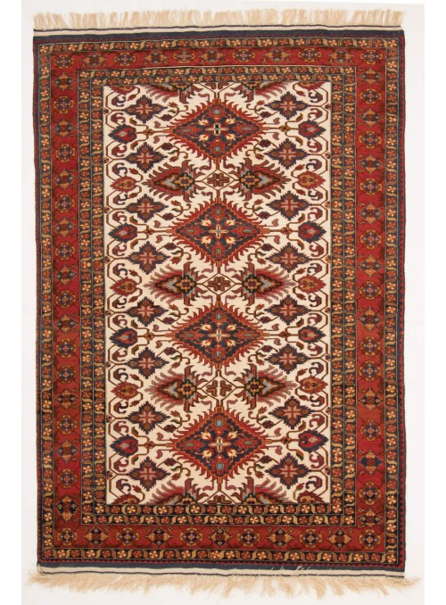 Hand-made luxury carpet Kabul Mauri Afghanistan ca. 150x200cm 100% wool
