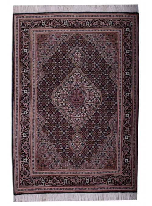 Hand made carpet Tabriz Mahi 40Raj 100x150cm wool classic