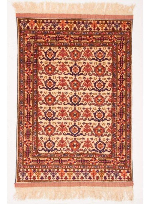Hand-made luxury carpet Kabul Mauri Afghanistan ca. 115x165cm wool and silk