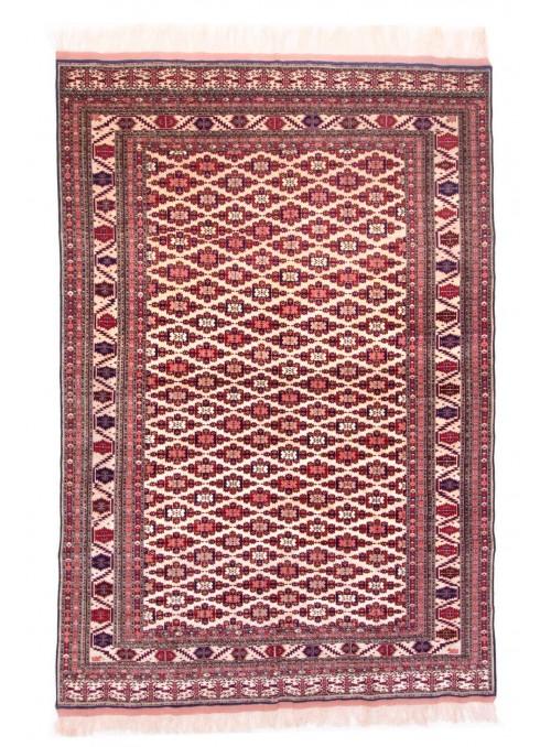 Hand-made luxury carpet Kabul Mauri Afghanistan ca. 200x280cm wool and silk