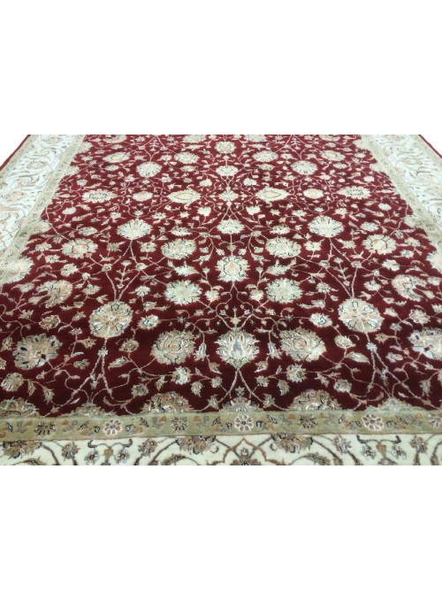 Klassisch Orient Teppich Handgeknüpft Iran Tabriz 275x365cm Wole mit Seide