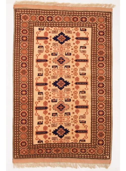 Ręcznie tkany dywan Afganistan Mauri Kabul ok 120x180cm wełna i jedwab