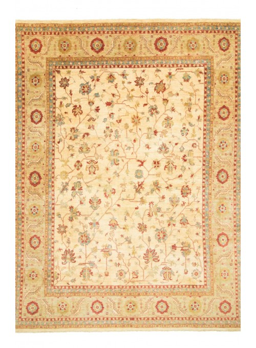 Ręcznie tkany dywan Afganistan Chobi Ziegler ok 350x450cm wełna wysokogórska