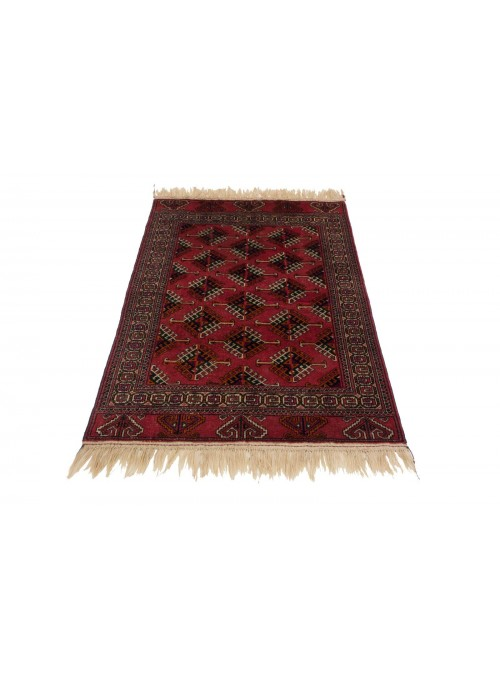 Hand-made luxury carpet Turkmenistan Buchara ca. 100x150cm 100% wool
