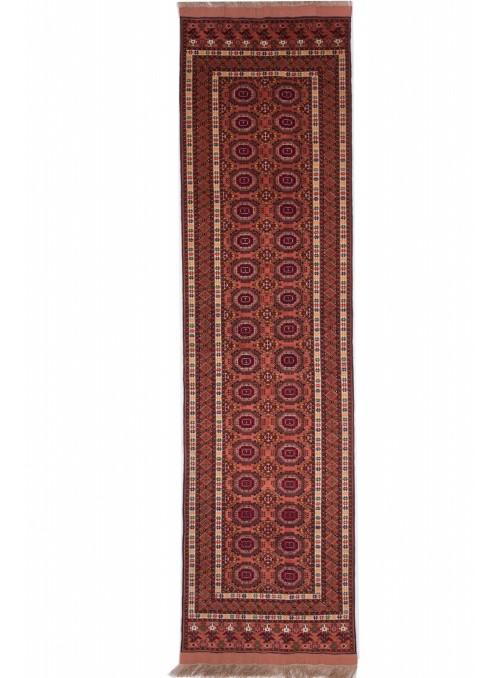 Luxus Afghanistan Teppich Mauri Kabul ca. 80x300cm Schurwolle und Seide Läufer