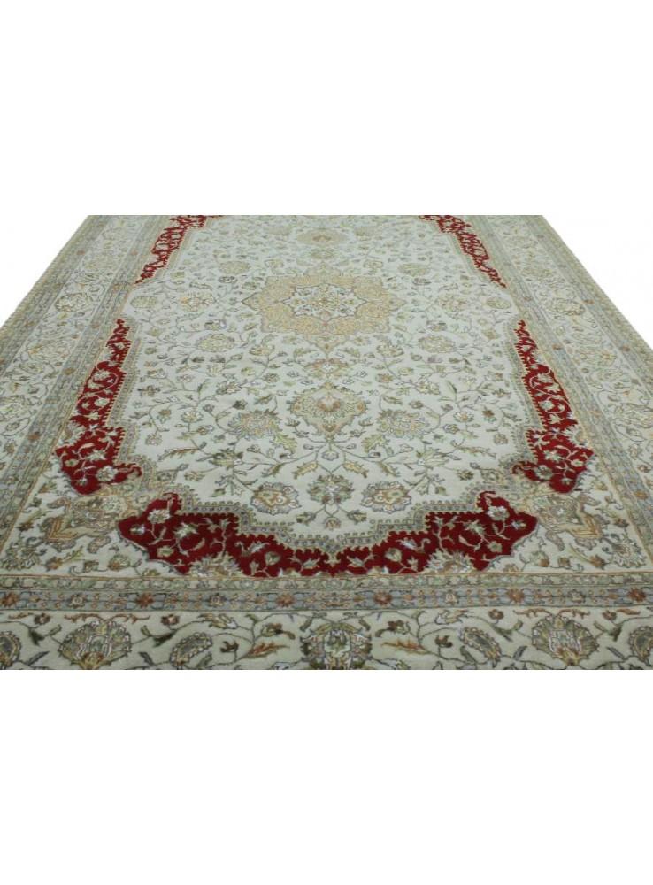 Handgeknuepft Orientteppich Iran Tabriz 200x300cm Wolle