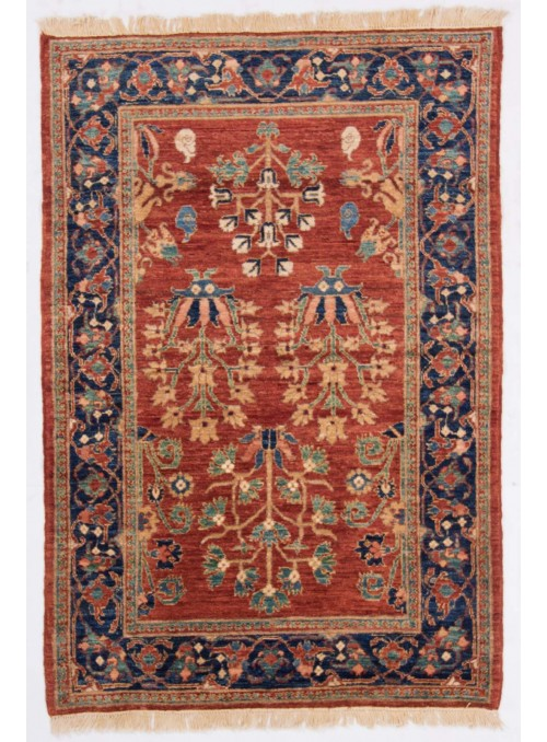 Afghanistan Teppich Chobi Ziegler ca. 110x160m Hochlandschurwolle