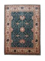 Hand made carpet Heriz 200x300cm 100% wool green