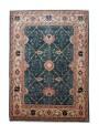 Hand made carpet Heriz 200x300cm 100% wool green