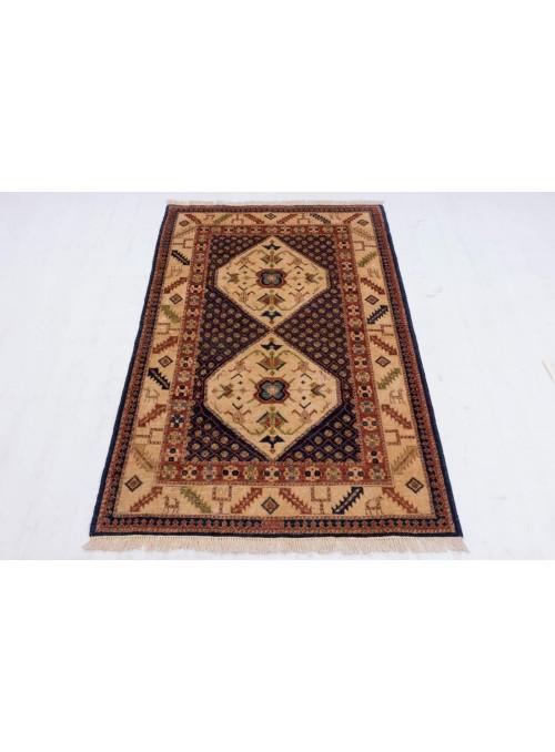 Afghanistan Teppich Chobi Ziegler ca. 100x150cm Hochlandschurwolle