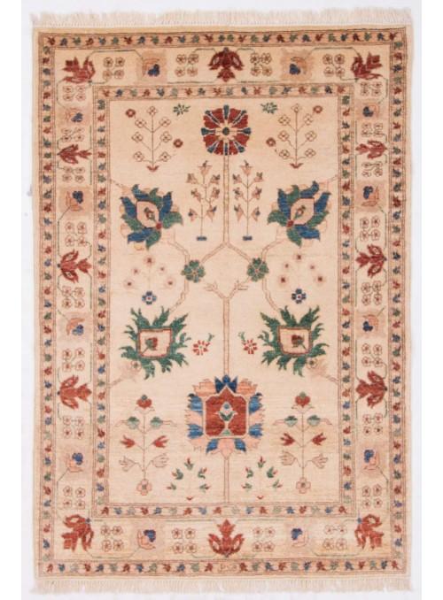 Afghanistan Teppich Chobi Ziegler ca. 105x155cm Hochlandschurwolle
