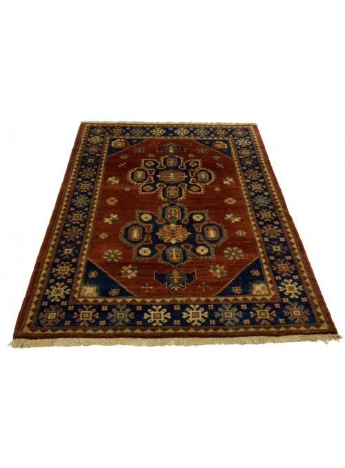 Hand-made carpet Afghanistan Chobi Ziegler ca. 120x180cm highland wool