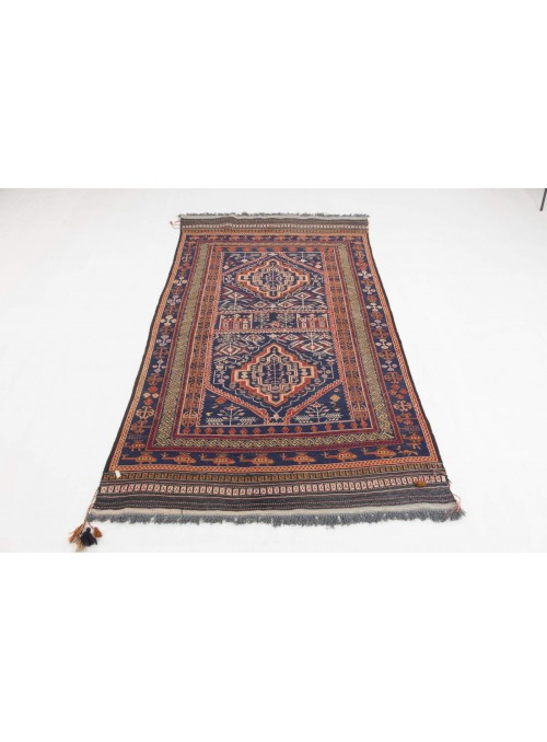 Carpet Taimani Kelim 209x127 cm - Afghanistan - 100% Sheeps wool