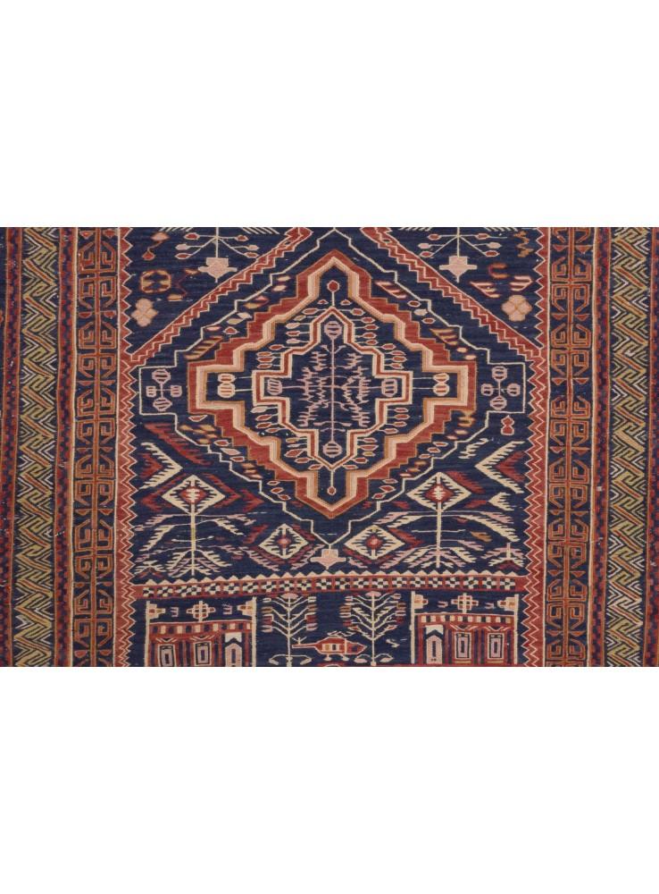 Dywan Taimani Kelim 209x127 Cm Afganistan 100 Wełna Owcza