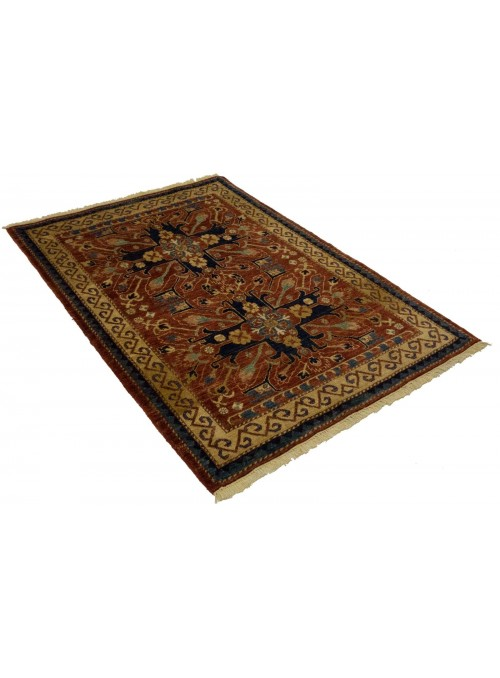 Teppich Chobi Ziegler 169x119 cm - Afghanistan - Hochlandschurwolle