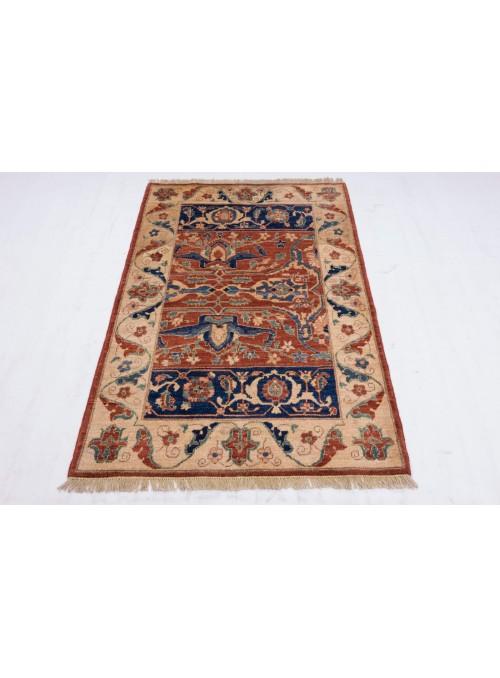Teppich Chobi Ziegler 159x107 cm - Afghanistan - Hochlandschurwolle