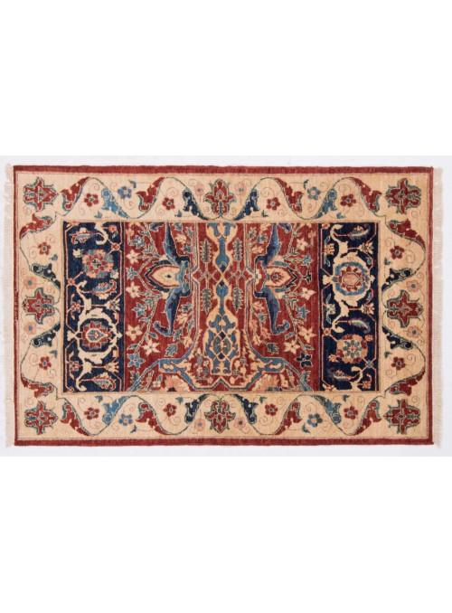 Teppich Chobi Ziegler 161x106 cm - Afghanistan - Hochlandschurwolle